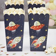 Picture of Space Adventure - Popcorn / Treat Boxes