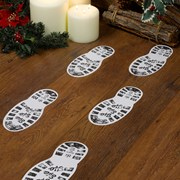 Picture of Christmas Craft - Santa's Boot Prints
