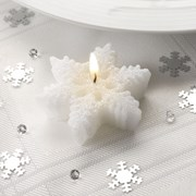 Picture of Shimmering Snowflake - Candles