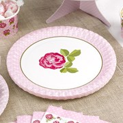 Picture of Vintage Rose - Plates
