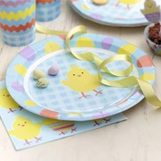 Picture of Easter Chick - Paper Plates