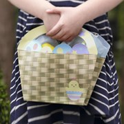 Picture of Easter Chick - Paper Baskets