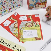 Picture of Dear Zoo - Invitations