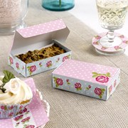 Picture of Vintage Rose - Cake Box