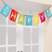Picture of Keep Calm - Interchangable Bunting - You're Only 30, 40, 50
