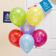 Picture of Keep Calm - Balloons 30th