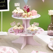 Picture of Vintage Rose - Cake Stand