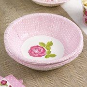 Picture of Vintage Rose - Paper Bowl