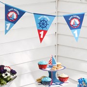 Picture of Ahoy There - 1st Birthday - Bunting