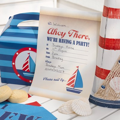Picture of Ahoy There - Invitations