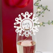 Picture of Merry Christmas - Placecard for Glass