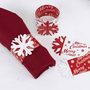 Picture of Merry Christmas - Napkin Rings
