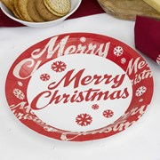 Picture of Merry Christmas - Plate