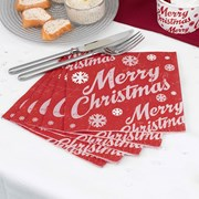 Picture of Merry Christmas - Napkins