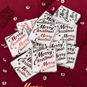 Picture of Merry Christmas - Chocolate Squares