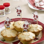 Picture of Let It Snow - Mince Pie Picks - Father Christmas