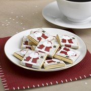 Picture of Let It Snow - Chocolate Squares - Father Christmas