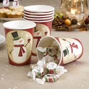 Picture of Let It Snow - Cups - Snowman