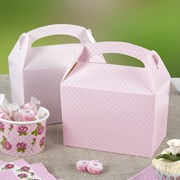 Picture of Polka Dot Lunch Box - Pink
