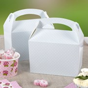 Picture of Polka Dot Lunch Box - Blue