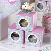Picture of Frills & Spills - Single Cupcake Box
