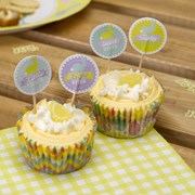 Picture of Happy Easter - Cupcake Picks