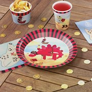 Picture of Dino Island - Paper Plates