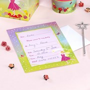Picture of Fairy Princess - Invitations