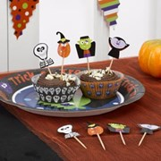 Picture of Trick or Treat - Cupcake Picks