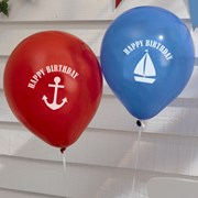 Picture of Ahoy There - Happy Birthday Balloons