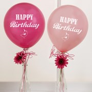 Picture of Little Bird - Happy Birthday Balloons