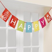 Picture of Keep Calm - Interchangable Bunting - You're Only 60, 70, 80