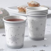 Picture of Shimmering Snowflake - Cups