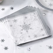Picture of Shimmering Snowflake - Napkins