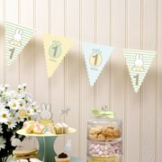 Picture of Baby Miffy - 1st Birthday Bunting