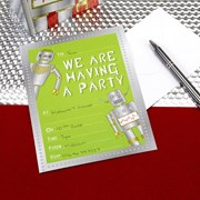 Picture of Robot Heroes - Invitations