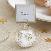 Picture of Winter Wonderland - Bauble Placecard Holders