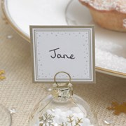 Picture of Winter Wonderland - Square Placecards