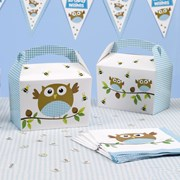 Picture of Little Owls - Lunch Boxes - Blue