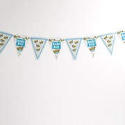 Picture of Little Owls - Bunting - Multi - Blue