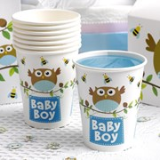Picture of Little Owls - Baby Boy Cups