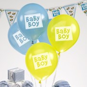 Picture of Little Owls - Baby Boy Balloons