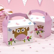 Picture of Little Owls - Lunch Boxes - Pink