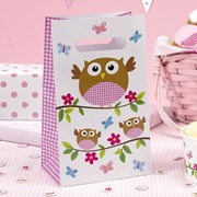 Picture of Little Owls - Party Bags - Pink