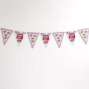 Picture of Little Owls - Bunting - Multi - Pink
