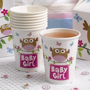 Picture of Little Owls - Baby Girl Cups
