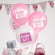 Picture of Little Owls - Baby Girl Balloons