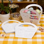 Picture of Easter Craft - Colour in Baskets