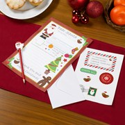 Picture of Christmas Craft - Letter To Santa Kit