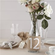 Picture of Vintage Affair - Hessian Table Numbers